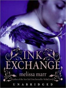 Ink Exchange by Melissa Marr. Yet another gorgeous cover, yes?